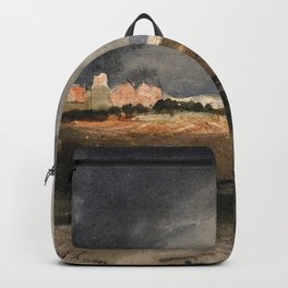 Samuel Palmer - At Hailsham, Sussex, A Storm Approaching - Digital Remastered Edition Backpack