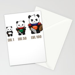 Gamer Panda Dungeon RPG Tabletop funny gift Stationery Cards