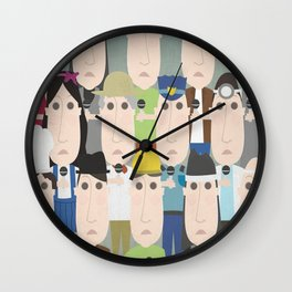 Citizen Patrol Wall Clock