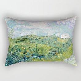 Vincent van Gogh Green Wheat Fields, Auvers Rectangular Pillow
