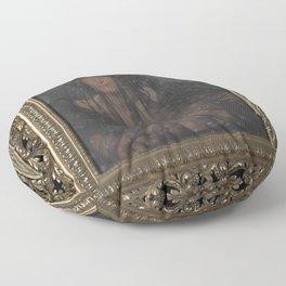 Leon Frederic - Allegorie van de Nacht Floor Pillow