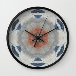 Bushfire Gum Medallion 10 Wall Clock