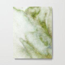 stained fantasy greenish veins Metal Print