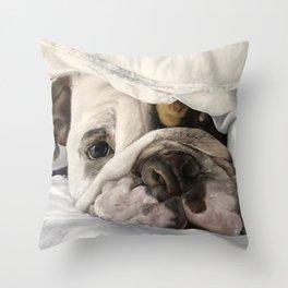 Not a Bully: Winston Throw Pillow