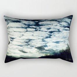 fluffy clouds freespirit Rectangular Pillow