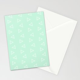 Impossible Triangles - Mint Stationery Cards