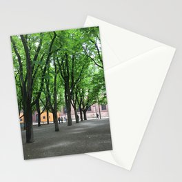 A Public Park in Basel, Switzerland Stationery Cards