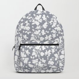 oyster grey beach rose Backpack