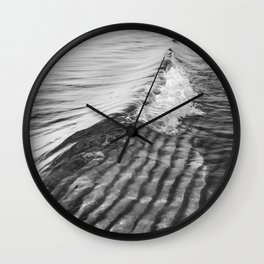 Sand Ripples and Waves Wall Clock