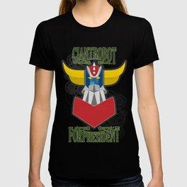 manga robots: grendizer for president T-shirt