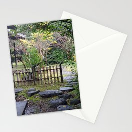 natural stone pathway nagasaki Stationery Cards