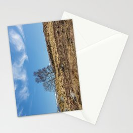 Moorland Trees Stationery Cards