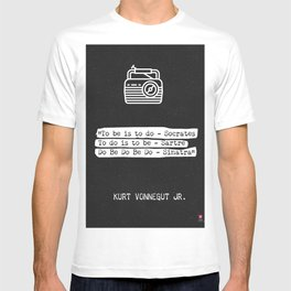 Kurt Vonnegut Jr. quote T-shirt