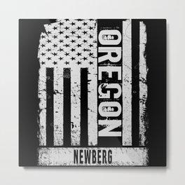 Newberg Oregon Metal Print