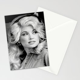Dolly Parton Canvas Print, Country Music Art, Christmas Poster, Custom Canvas, Wall Art, Wall Hanging, Custom Poster, Gift For Friend Stationery Cards