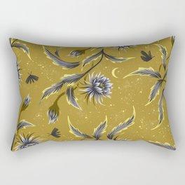 Queen of the Night - Gold Rectangular Pillow