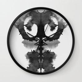 Form Ink Blot No.1 Wall Clock