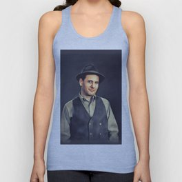 Eli Wallach, Vintage Actor Unisex Tank Top