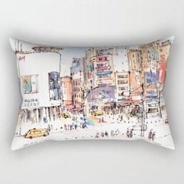 Ximen in Taipei city Rectangular Pillow
