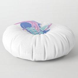 It's The Bass Floor Pillow