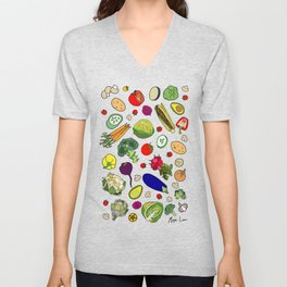 Vegetable Soup Recipe Unisex V-Neck