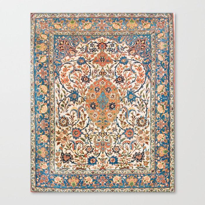 Isfahan Antique Central Persian Carpet Print Leinwanddruck