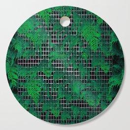 Fern Grid Plant Wall Cutting Board