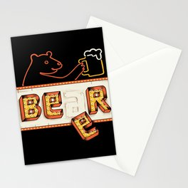 Bear or Beer Stationery Cards