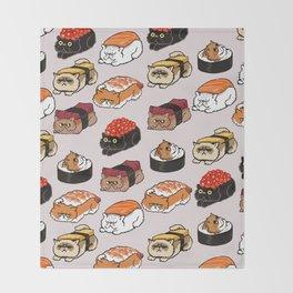 Sushi Persian Cat Decke