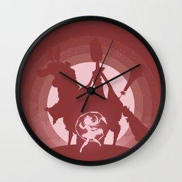 Ophelia Witch Wall Clock