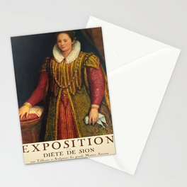 Plakat grands maitres anciens exposition a Stationery Cards