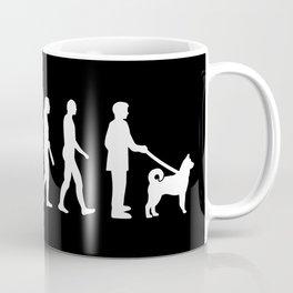 Norwegian Elkhound evolution Coffee Mug