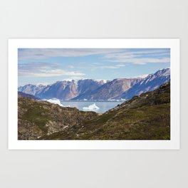 Greenland Vista Art Print