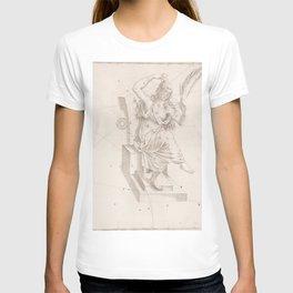 Johann Bayer - Uranometria / Measuring the Heavens (1661) - 10 Cassiopeia T-shirt