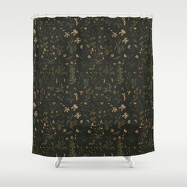 Old World Florals Duschvorhang