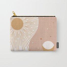 Yin Yang Blush - Sun & Moon Carry-All Pouch