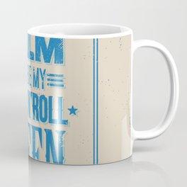 Keep Calm and Be My Rock'n'Roll Queen Invert Coffee Mug