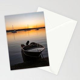 Sunset on Lake Macquarie Stationery Cards