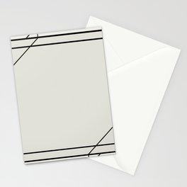 Art Deco Frame Stationery Cards