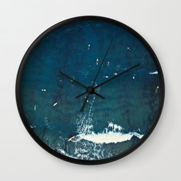 Board Meeting | Surfing  Wall Clock