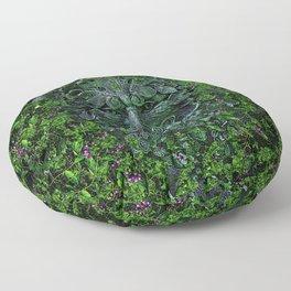 THE GREEN MAN Floor Pillow