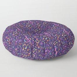 The Art of Music Floor Pillow