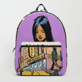 Record Girl Backpack