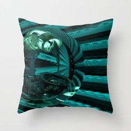 Skorpio Searching Throw Pillow