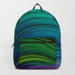 Dream Fiber IV. Green & Blue Backpack