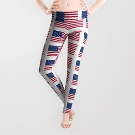 USA 9- america,us,united states,american,new york,hollywoord,spangled,banner,star and strips Leggings
