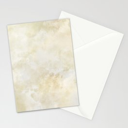 Grunge beige watercolor marble background Stationery Cards