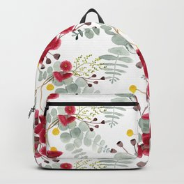 Australian Natives Watercolour Backpack
