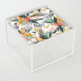 Botanical brush strokes I Acrylic Box