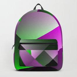Purple Pyramids Backpack